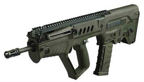 "Israel Weapon Industries Tavor SAR G16 5.56mm NATO 16.5"" Barrel 30 Round Mag Bullpup OD Green A2 Style Flash Suppressor Semi Automatic Rifle TSG16"
