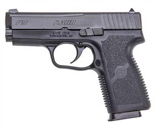 "Kahr Arms P9 9mm Luger 3.5"" Barrel 7 Round Double Action Compact Polymer Matte Black Blemished Semi Automatic Pistol KAKP9094B"