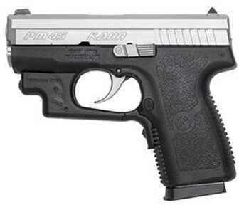 "Kahr Arms PM45 45 ACP 3.24"" Stainless Steel 5 Round Crimson Trace Laser Black Semi Automatic Pistol PM4543L"