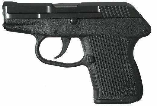 "Kel-Tec P-32 Semi-Automatic Pistol 32ACP 2.68"" Barrel 7 Round Black Frame Parkerized Slide P32PKBLK"