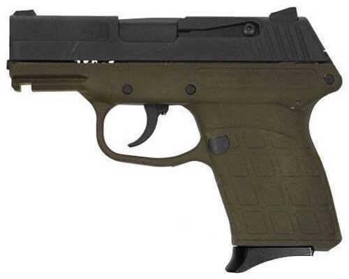 "Kel-Tec PF-9 9mm Luger 3.1"" Barrel 7 Round Double Action Compact Parkerized Green Semi Automatic Pistol PF9PKGRN"