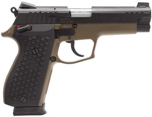 """Lionheart Industries Lionheart LEFT HANDED9 9mm Luger 4.1"""" Barrel 15 Round Brown Cerakote Semi Automatic Pistol 1009NVKBRN"""