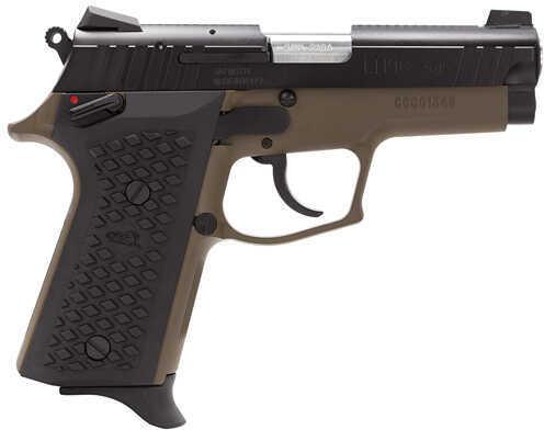 """Lionheart Industries Lionheart LEFT HANDED9NC 9mm Luger 3.6"""" Barrel 10 Round Novak Sights Cerakote Brown Semi Automatic Pistol 109CNVKBRN"""