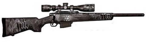 "Howa Kryptek Typhon 223 Remington 20"" Barrel 5 Round Bolt Action Rifle HKF90227KTF"