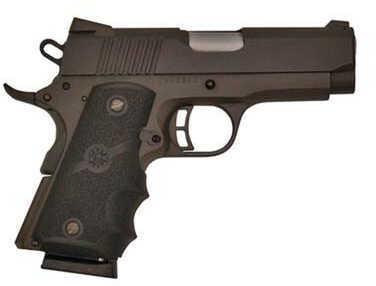 "Citadel 1911 Compact 45 ACP 3.5"" Barrel 7 Round Black Houge Grip Semi Automatic Pistol CIT45CSPHBLK"
