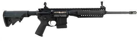 "LWRC M6A2 IC-A2 5.56 NATO 16.1"" Barrel 10 Round Magpul MOE Black Bullet Button Semi Automatic Rifle ICA2R5B16"