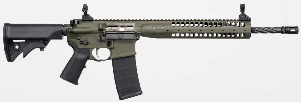 "LWRC IC 5.56 NATO 16.1"" Barrel 30 Round OD Green Magpul Gas Piston Semi Automatic Rifle ICER5ODG16"