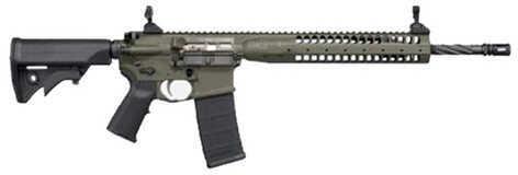 """LWRC International M6 IC SPR 5.56mm NATO 16.1"""" Barrel 30 Round Mag Black Finish Semi Automatic Rifle ICR5B16SPR"""