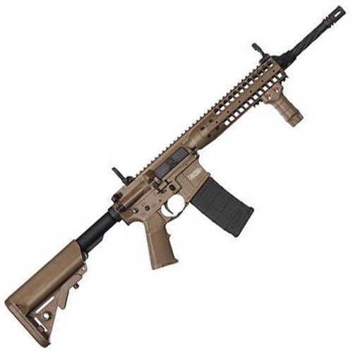 "LWRC MK6 223 Remington/5.56mm NATO 16"" Barrel Flat Dark Earth Finish 30 Round Mag Semi-Automatic Rifle ICTR5CKF14P"