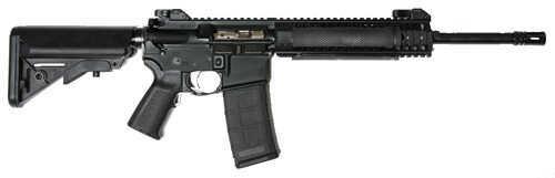 "LWRC Special Rifle-Teams 223 Remington /5.56mm Nato 14.7"" Barrel 30 Round 9"" Quad Rail Pinned Brake Sopmod Black Semi Automatic Rifle M6A2R5B14P"
