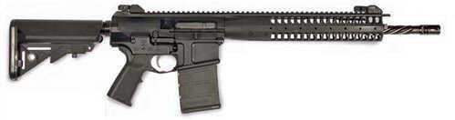 """LWRC REPR 308 Winchester/7.62 NATO 16"""" Barrel 20 Round Black SOPMOD Blemished Semi Automatic Rifle REPRR7BF16"""
