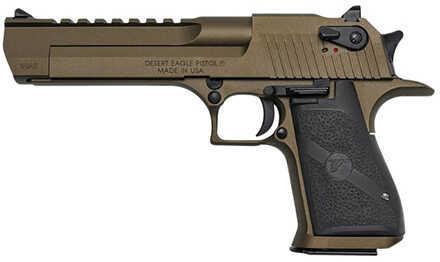 "Magnum Research MRI Desert Eagle 44 Magnum 6"" Barrel 8+1 Rounds Burnt Bronze Cerakote Frame Black Grip *CA Compliant* Semi Automatic Pistol DE44CABB"