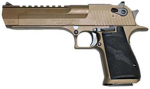 "Magnum Research Desert Eagle 50 Action Express 6"" Barrel 7 Round Brunt Bronze Semi Automatic Pistol DE50BB"