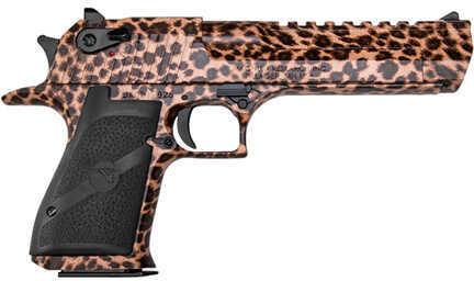 "Pistol Magnum Research Inc Desert Eagle Mark XIX SAO 50 AE 6"" Barrel 7+1 Rounds Black Grip Cheetah DE50C"