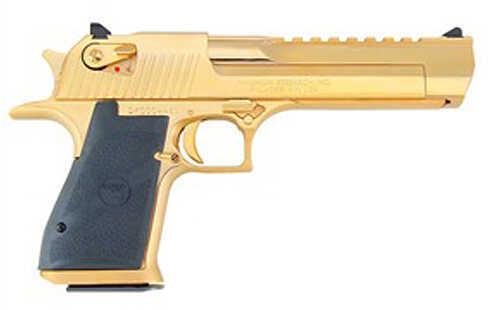 "Magnum Research Desert Eagle 357 Magnum 6"" Barrel 9 Round Gold ""Blemished"" Semi Automatic Pistol ZDE357GO"
