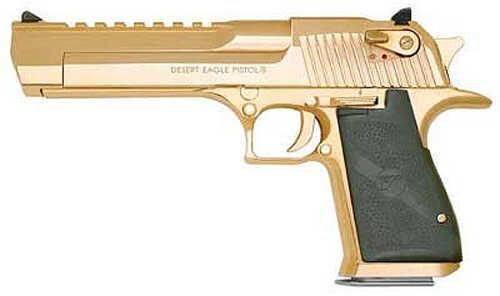 "Magnum Research Desert Eagle 44 Magnum 6"" Barrel 8 Round Gold Refurbished Semi Automatic Pistol ZDE44GO"