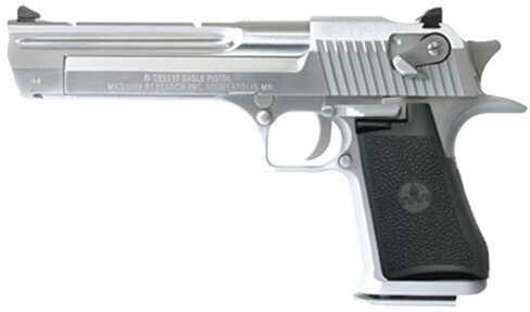 "Magnum Research Desert Eagle 44 Magnum 6"" Barrel Brushed Chrome Finish Semi Automatic Pistol   CA Legal    DE44CABC"