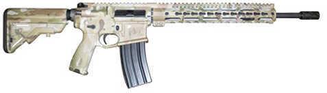 """Midwest Industries SSK12 Minute Man 223 Remington /5.56mm Nato 16"""" Barrel 30 Round Semi Automatic Rifle MI-16FSSK12-MULTI"""