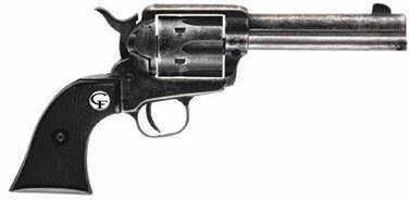"CHIAPPA 1873 SAA Revolver 22 Long Rifle 4.75"" Barrel Antique Finish Black Plastic Grip 187322ANT"