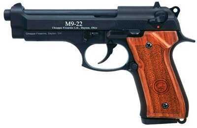 "Chiappa M9 22 Long Rifle 5"" Barrel 10 Round 2 Magazines Plastic Grips Semi Automatic Pistol 700001"