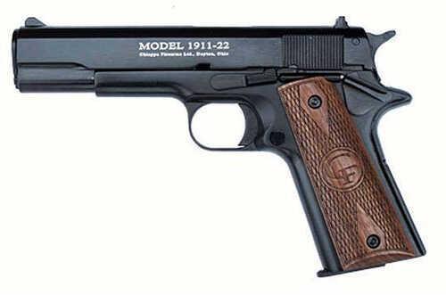 "Chiappa 1911-22 22 Long Rifle 5"" Barrel  2 10 Round Magazines  Semi Automatic  Pistol  191122BLK"