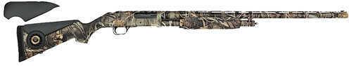"Mossberg 535 ATS Waterfowl 12 Gauge Shotgun 28"" Barrel Vented Rib Max4 Camo Fiber Optic Sight 45232"