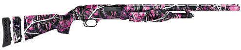 "Mossberg 510 20 Gauge Shotgun 18.5"" Barrel 3 Chokes Pink Muddy Girl 50496"