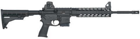 "Mossberg MMR Tactical 5.56mm NATO 16"" Barrel Fixed Stock Quad Rail 10 Round Capacity Semi Automatic Rifle 65017"