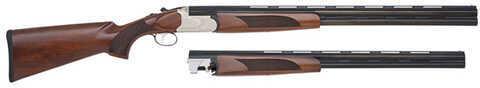 "Mossberg Silver Reserve II   12 Gauge Shotgun  28"" Barrel   20 Gauge 26"" Barrel    Combo 75442"