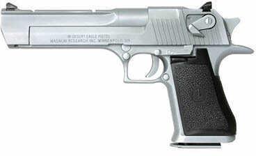 """Magnum Research Desert Eagle 50 Action Express 6"""" Matte Chrome Semi Automatic Pistol DE50MC"""