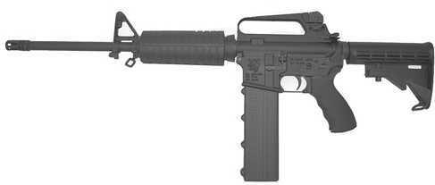 "Olympic Arms K45 45 ACP 16"" Barrel 6-Position Stock AR-15 Black Semi Automatic Rifle K45"
