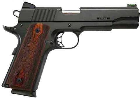 "Para Po Elite 45 ACP 5"" Barrel Black Stainless Steel Fiber Optic Front Sight Cocobolo Grip 8 Round Semi Automatic Pistol 96663"