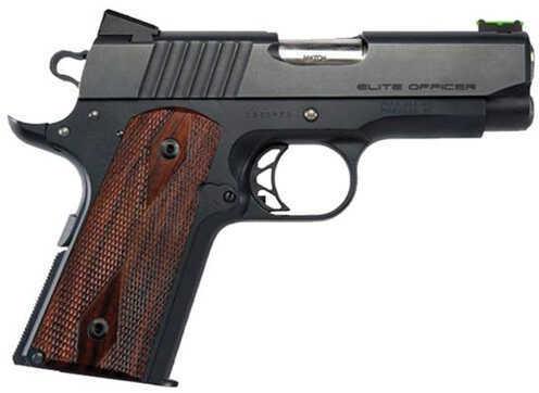 "Para USA Elite Officer 45ACP 3.5"" Barrel 7 Round Black Stainless Steel Cocobolo Grip Semi Automatic Pistol 96668"