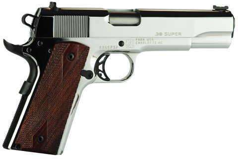 "Para USA Elite 38 Super Automatic 5"" Barrel 8 Round Cocobolo Grip Stainless Steel Semi Automatic Pistol 96753"