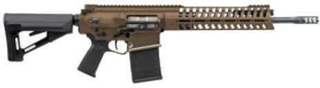"Patriot Ordnance Factory P308 Gen4   308 Winchester 16.5"" Barrel Cerakote Burnt Bronze Finish 20 Round  Semi-Automatic Rifle 40726"