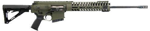 "Patriot Ordnance POF P308 243 Winchester 20"" Barrel Free Floating Monolithic Top Rail Semi-Auto Rifle R3082011H243"