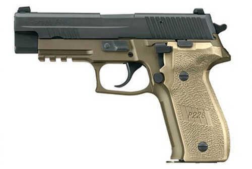 "Sig Sauer P220R 45ACP 4.4"" Barrel Nitron Finish 8 Round Single/Double Action Semi Automatic Pistol 220R45BSSDAK"