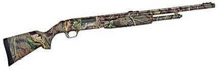 """Mossberg 500 20 Gauge Shotgun  24"""" Ported Barrel  Fiber Optic Sights Synthetic  54144"""