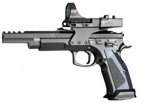 "Pistol CZ USA 75 TS CZECHMATE 9mm Luger 5.4"" (3) 20 Round (1) 26Rd 91174"