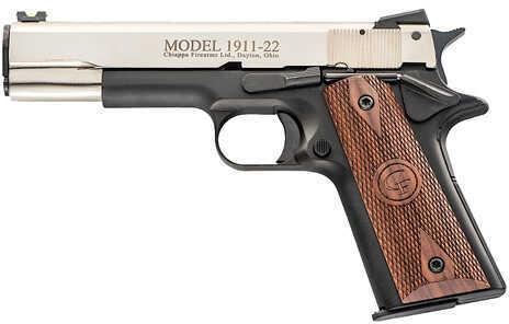 "Chiappa Firearms 1911-22 Cruiser Semi Automatic Pistol .22 Long Rifle 5"" Barrel 10 Round Dual Tone finish CF401102"