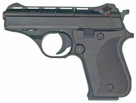 "Phoenix Tech HP22A Compact 22 Long Rifle 3"" Barrel 10 Round Alloy Black Plastic Grip Semi-Automatic Pistol 22ABB"