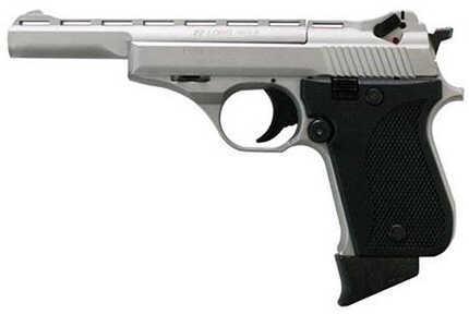 "Phoenix Rangemaster Semi-Auto Pistol 22 Long Rifle 5"" Barrel 10 Round Alloy Nickel Plastic Grip HP22ARMN"