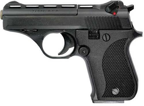 "Phoenix Tech Phoenix Arms HP26A Semi Automatic Pistol 25 ACP 3"" Vented Rib Barrel 9 Round Black HP25ABB"