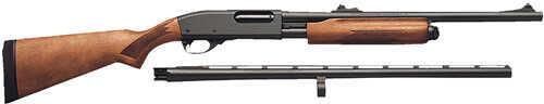 "Remington Model 870 Express Combo 12 Gauge 26""/20"" Barrels  4 Round  Wood   Pump Action Shotgun 25578"
