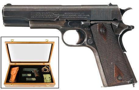 "Remington UMC Commemorative 1911 45 ACP 5"" Barrel 7 Round Checkered Grip Carbon Steel Semi Automatic Pistol 96367"