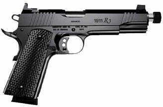 "Pistol Remington Arms Co. Remington 1911 R1 45 ACP 5"" Black Stainless Steel ThRd Barrel 2 8Rd 96339"