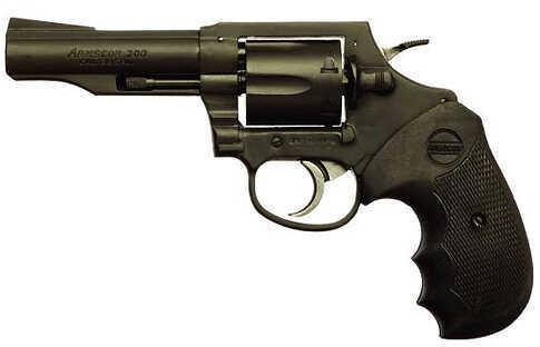 """Armscor Precision M200 Revolver Pistol 38 Special 4.02"""" Barrel 6 Round Matte Black Finish 51261"""