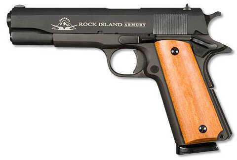 "Rock Island Armory M1911-A1 45 ACP 5"" Barrel 8 Round Parkerized Semi Automatic Pistol 51421"