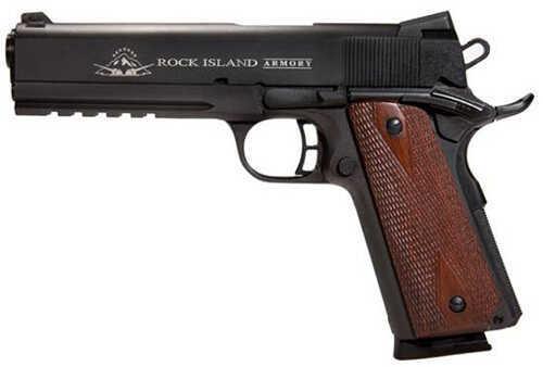 "Armscor Precision Inc Armscor Rock Island Armory M1911-A1 Tactical 2011 45 ACP 5"" Barrel 8 Round Semi Automatic Pistol 51484"