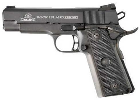 "Rock Island Armory M1911-A2 MS 22 TCM 4.25"" Barrel 17 Round Parkerized Semi Automatic Pistol 51915"